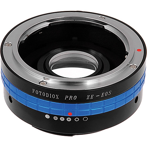 FotodioX Pro Lens Mount Adapter for Mamiya ZE Lens to Canon EF-Mount Camera