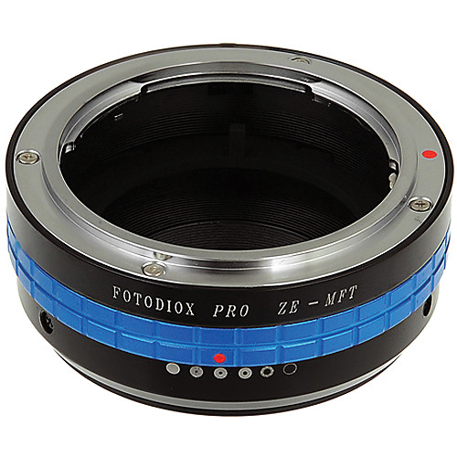 FotodioX Mamiya ZE Pro Lens Adapter for Micro Four Thirds Cameras