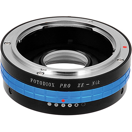 FotodioX Pro Lens Mount Adapter for Mamiya ZE Lens to Nikon F Mount Camera