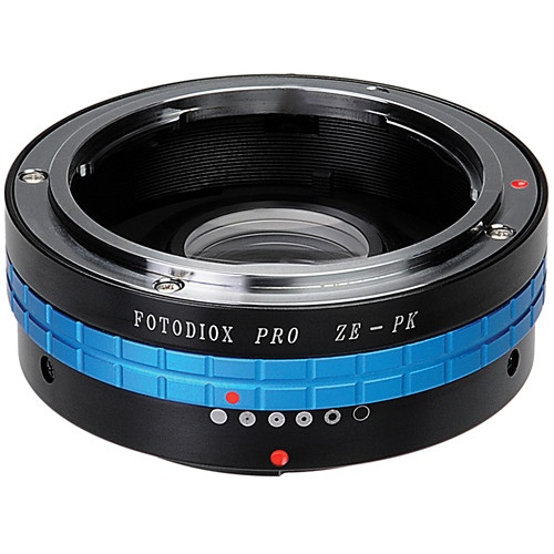 FotodioX Pro Lens Mount Adapter for Mamiya ZE Lens to Pentax K Mount Camera