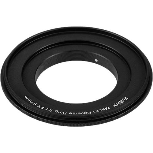 FotodioX 67mm Reverse Mount Macro Adapter Ring for FUJIFILM X-Mount Cameras
