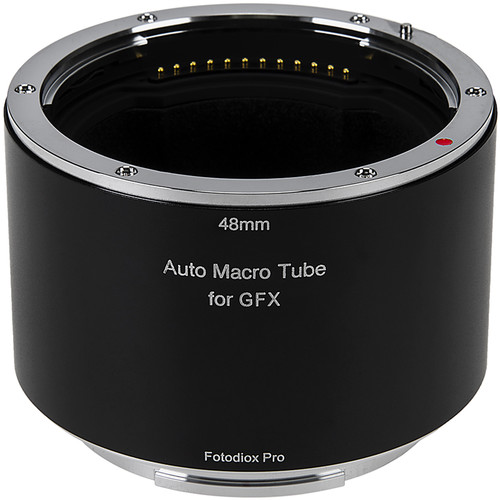 FotodioX Automatic Macro Extension Tube (48mm Section) for Fuji G-Mount GFX Mirrorless Cameras