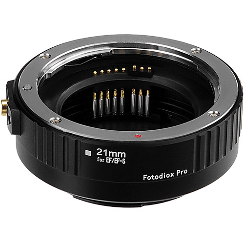 FotodioX Pro Auto Macro Extension Tube for Canon EF & EF-S Lenses (21mm)