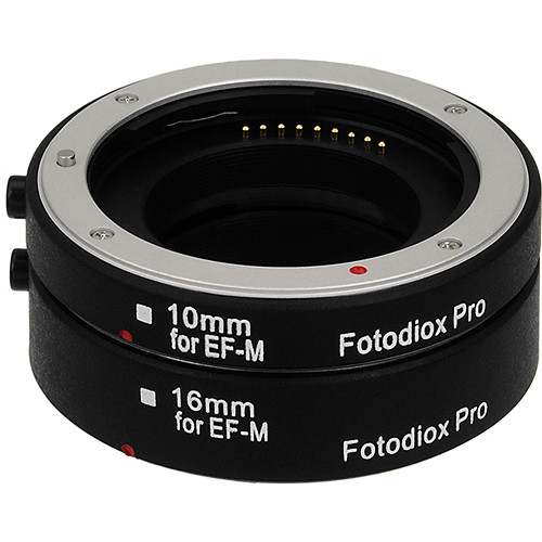 FotodioX Pro Automatic Macro Extension Tube Kit for Canon EF-M