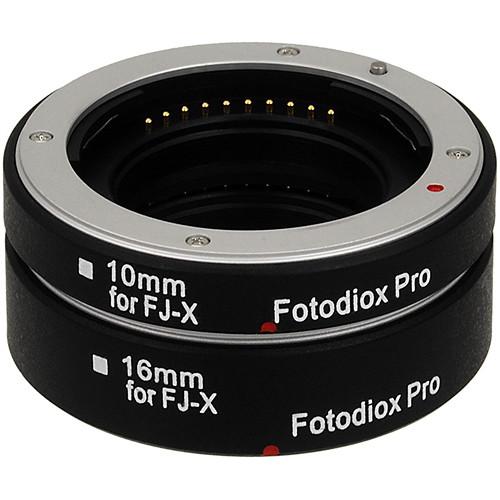 FotodioX Pro Automatic Macro Extension Tube Kit for Fujifilm X