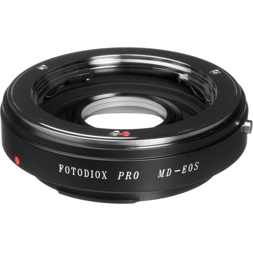 FotodioX Pro Lens Mount Adapter for Minolta MD/MC/SR Lens to Canon EF-Mount Camera