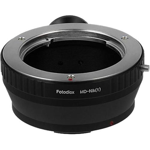 FotodioX Mount Adapter for Minolta SR/MD/MC-Mount Lens to Nikon 1-Series Camera