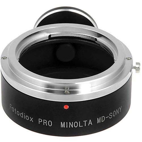 FotodioX Adapter for Minolta MD/MC/SR Rokkor Mount Lens to Sony NEX Mount Camera