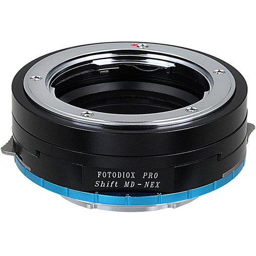 FotodioX Pro Lens Mount Shift Adapter for Minolta MD-Mount Lens to Sony E-Mount APS-C Camera
