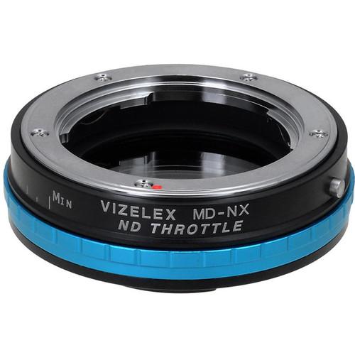 FotodioX Minolta MD Lens to Samsung NX-Mount Camera Vizelex ND Throttle Adapter