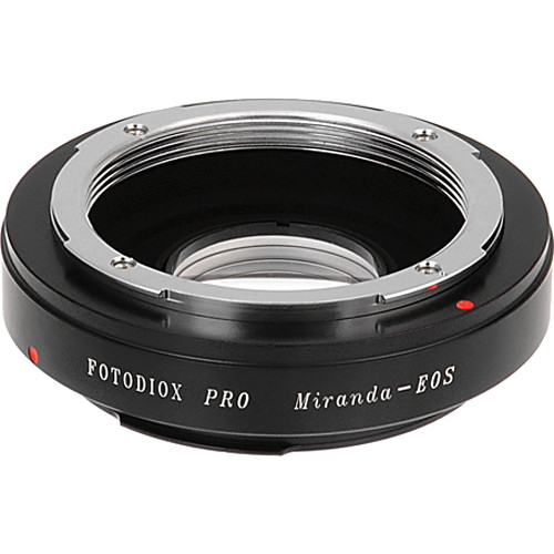 FotodioX Pro Lens Mount Adapter for Miranda Lens to Canon EF-Mount Camera