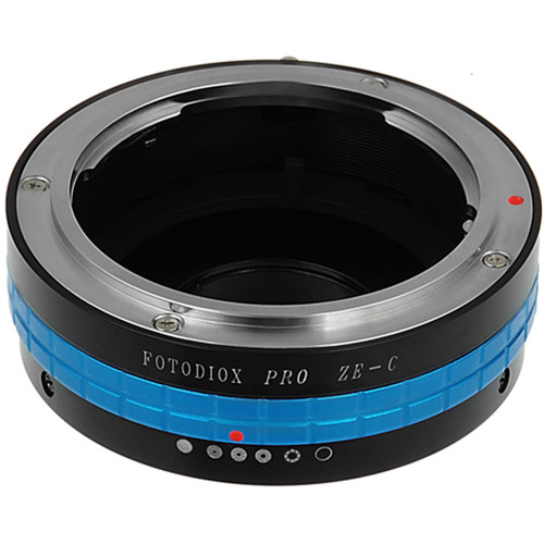 FotodioX Mamiya 35mm ZE to C-Mount Lens Adapter with Aperture Control Dial