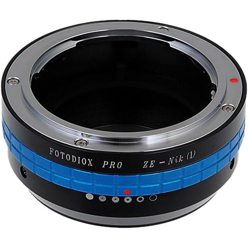 FotodioX Pro Mount Adapter for Mamiya ZE-Mount Lens to Nikon 1-Series Camera