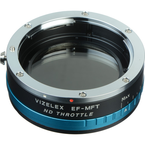 FotodioX Canon EF/EF-S Lens to Micro Four Thirds Camera Vizelex ND Throttle Adapter