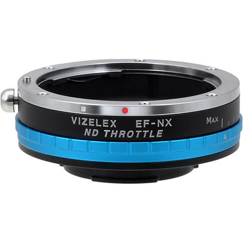 FotodioX Canon EF/EF-S Lens to Samsung NX-Mount Camera Vizelex ND Throttle Adapter