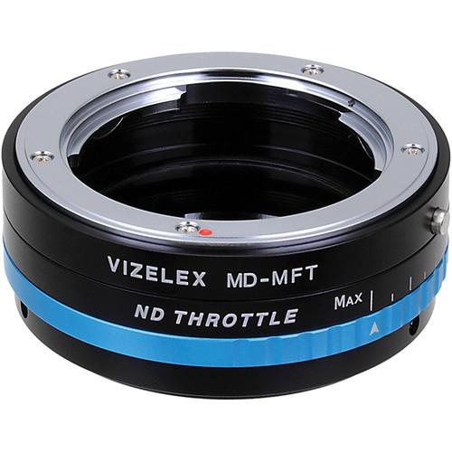 FotodioX Minolta MD Lens to Micro Four Thirds Camera Vizelex ND Throttle Adapter