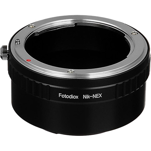 FotodioX Mount Adapter for Nikon F-Mount Lens to Sony E-Mount Camera