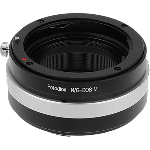 FotodioX Lens Mount Adapter for Nikon G-Type F-Mount Lens to Canon EOS M Camera