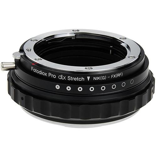 FotodioX Nikon F G-Type Lens to Fujifilm X-Mount DLX Stretch Adapter