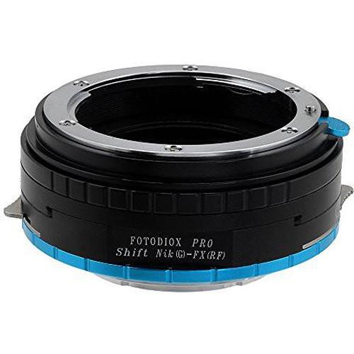 FotodioX Pro Shift Lens Mount Adapter for Nikon G-Type F-Mount Lens to Fujifilm X-Mount Camera