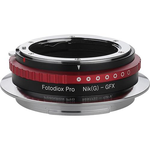 FotodioX Nikon F Lens to Fujifilm G-Mount Camera Pro Lens Mount Adapter