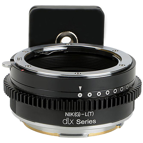 FotodioX Pro Lens Mount Adapter for Nikon G-Type F-Mount Lens to Leica T/SL/TL-Mount Camera