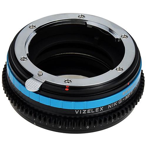 FotodioX Nikon F Lens to Micro Four Thirds Camera Vizelex Polar Throttle Adapter