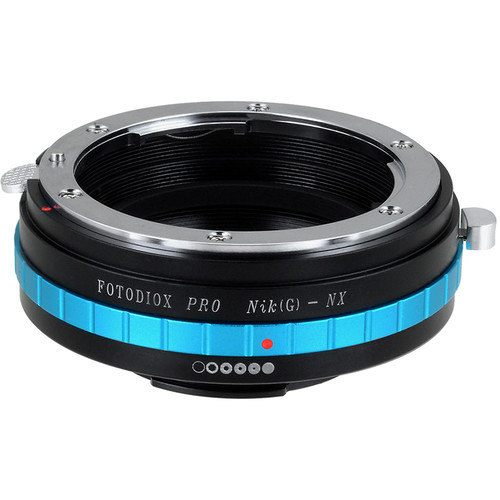 FotodioX Pro Lens Mount Adapter for Nikon G-Type F-Mount Lens to Samsung NX-Mount Camera