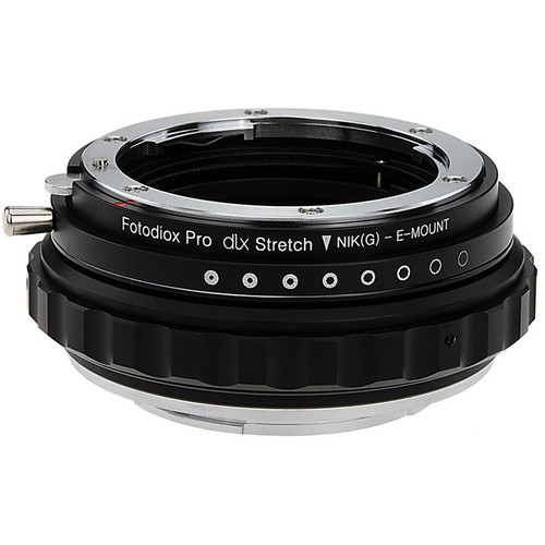 FotodioX Nikon F G-Type Lens to Sony E-Mount DLX Stretch Adapter