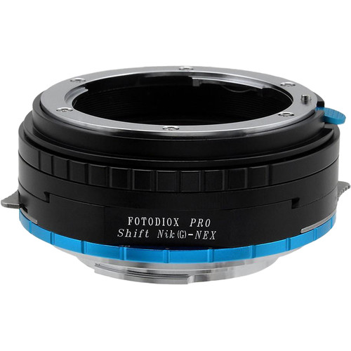 FotodioX Pro Shift Lens Mount Adapter for Nikon G-Type F-Mount Lens to Sony E-Mount Camera