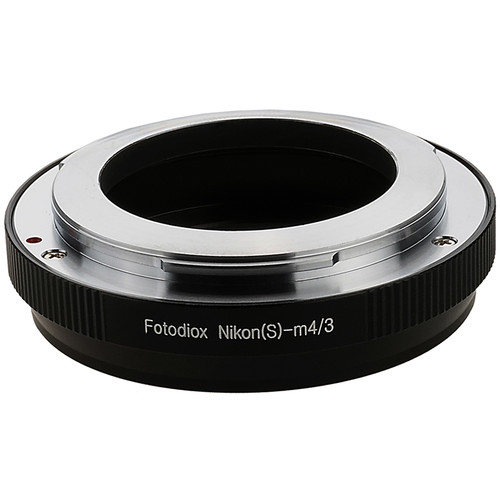 FotodioX Mount Adapter for Nikon S-Mount Lens to Micro Four Thirds Camera