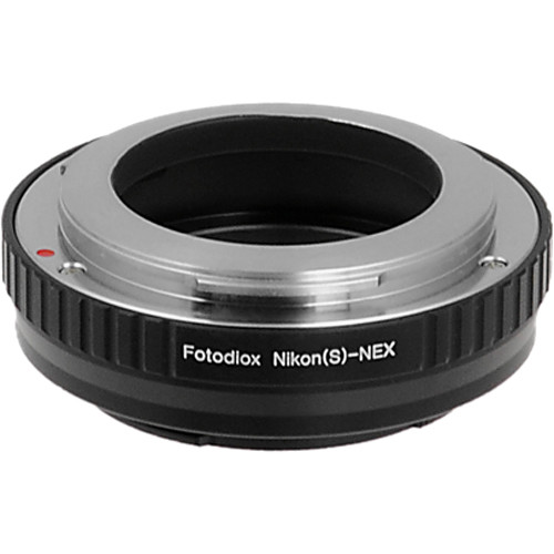 FotodioX Mount Adapter for Nikon S-Mount Lens to Sony E-Mount Camera