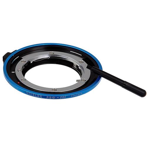 FotodioX Vizelex CinePro Lens Mount Adapter for Nikon F-Mount Lens to Canon EF or EF-S Mount Camera