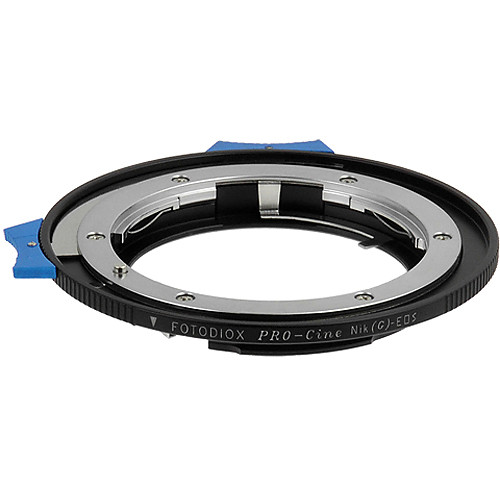FotodioX Pro Lens Mount Adapter for Nikon F G-Type Lens to Canon EF-Mount Camera