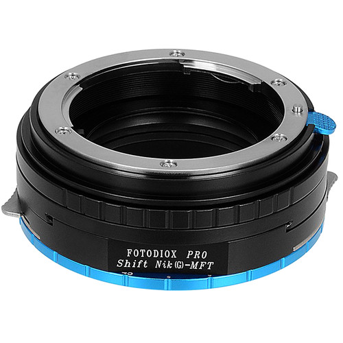 FotodioX Pro Lens Mount Shift Adapter for Nikon F-Mount Lens to Select Micro Four Thirds-Mount Cameras