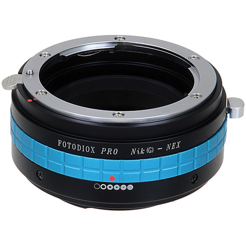 FotodioX Nikon F-Mount G-Type Lens to Sony E-Mount Camera Pro Mount Adapter