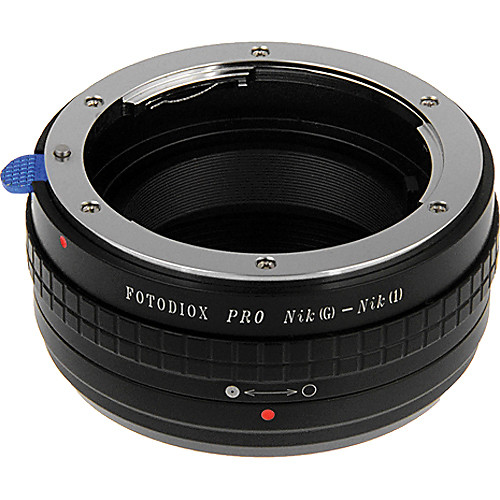 FotodioX Nikon F-Mount Pro Lens Adapter with Aperture Control for Nikon 1 Cameras