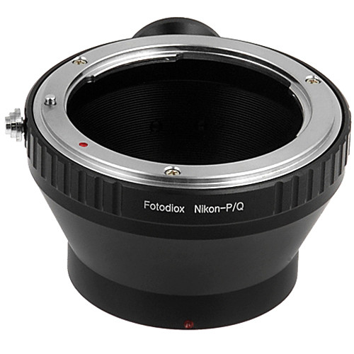 FotodioX Adapter for Nikon F Mount Lenses to Pentax Q Mount Mirrorless Cameras