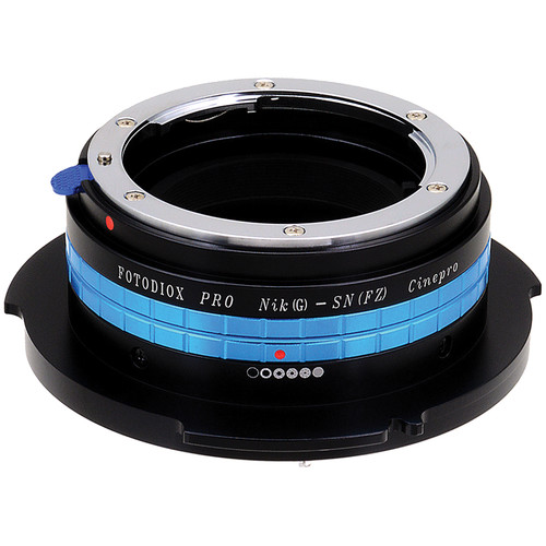 FotodioX Pro Lens Mount Adapter Nikon F, G/DX to Sony FZ Mount