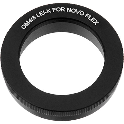 FotodioX Mount Adapter for Novoflex Rifle Lens to Olympus 4/3-Mount Camera