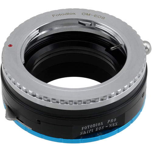 FotodioX Pro Shift Mount Adapter for Olympus OM-Mount Lens to Sony Alpha E-Mount Camera