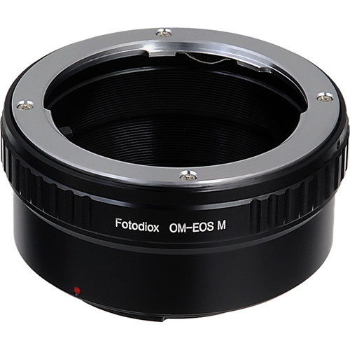 FotodioX Mount Adapter for Olympus OM-Mount Lens to Canon EOS M Camera