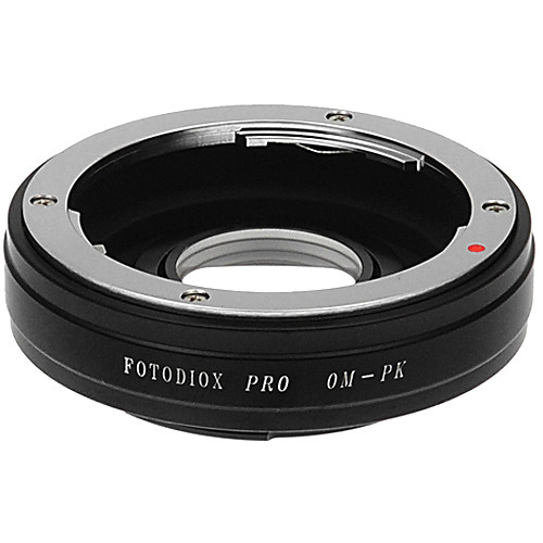 FotodioX Pro Lens Mount Adapter for Olympus OM Lens to Pentax K Mount Camera