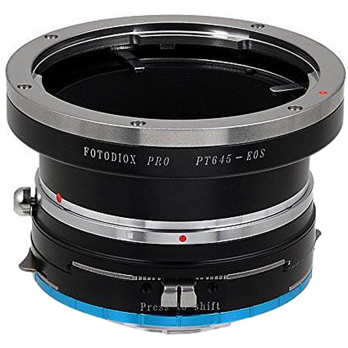 FotodioX Pro Shift Mount Adapter for Pentax 645 Lens to Fujifilm X-Mount Camera