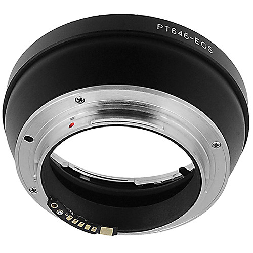 FotodioX Pro Lens Mount Adapter for Pentax 645 Lens to Canon EF-Mount Camera with Dandelion Focus Confirmation Chip