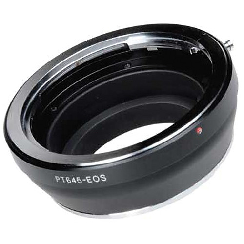 FotodioX Pro Lens Mount Adapter for Pentax 645 Lens to Canon EF-Mount Camera