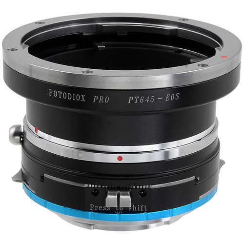 FotodioX Pro Shift Mount Adapter for Pentax 645 Lens to Sony E-Mount Camera