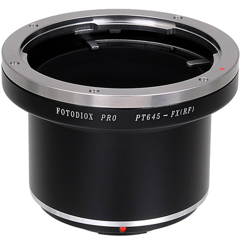FotodioX Pro Lens Mount Adapter for Pentax 645-Mount Lens to Fujifilm X-Mount Camera