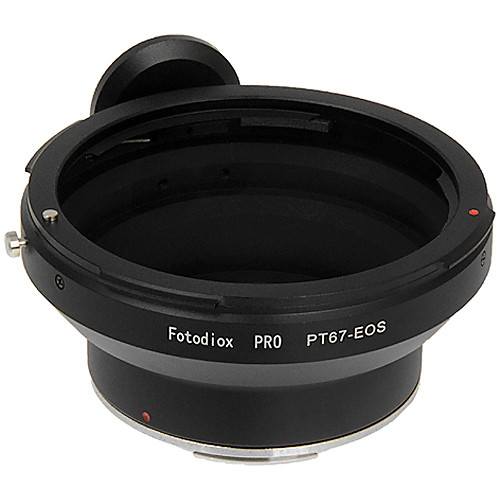 FotodioX Pro Lens Mount Adapter for Pentax 67 Lens to Canon EF-Mount Camera