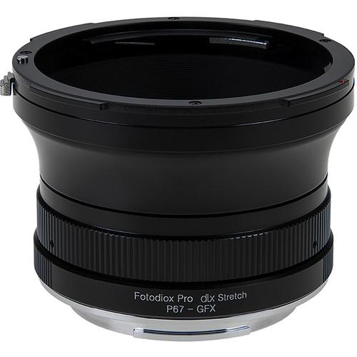 FotodioX Pentax 6x7 Lens to FUJIFILM G-Mount GFX DLX Stretch Adapter